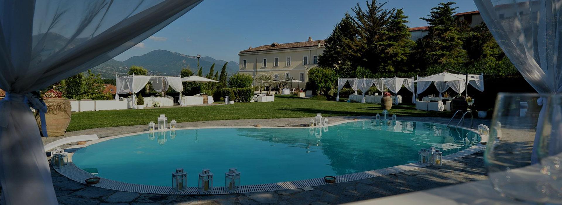Villa location per matrimoni cerimonie ricevimenti e for Mobilifici caserta e provincia