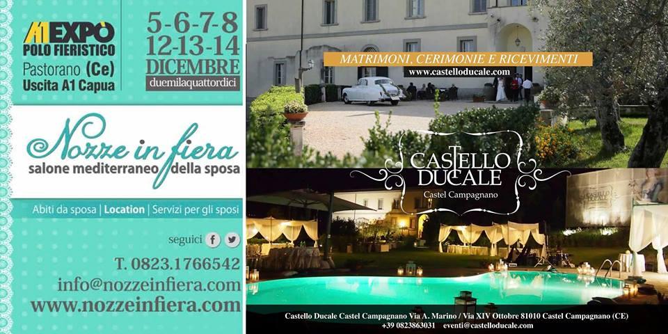fiera sposi dicembre 2014 Caserta: Castello Ducale a Nozze in Fiera